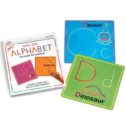 Wikki Stix 174 Alphabet Cards