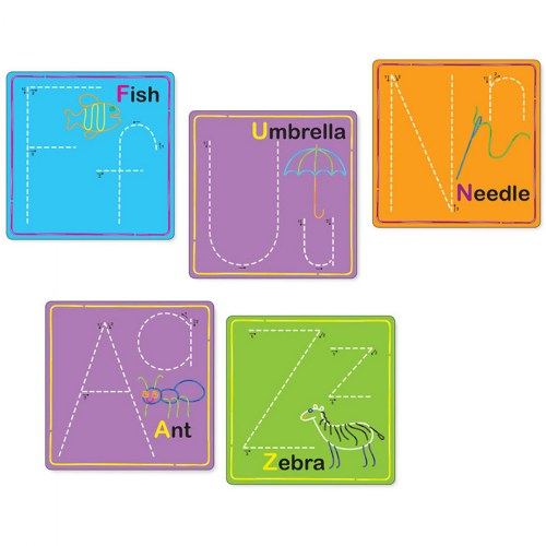 Alternate Image #8 of Wikki Stix® Alphabet With Upper & Lowercase and Numbers & Counting Cards