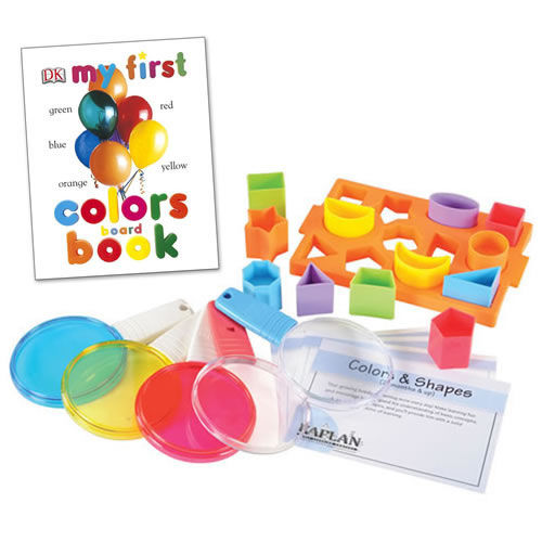 Colors & Shapes Learning Kit (Bilingual)