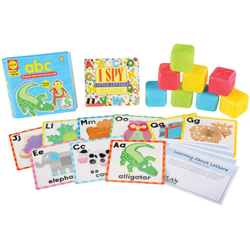Learning about Letters Learning Kit - Bilingual