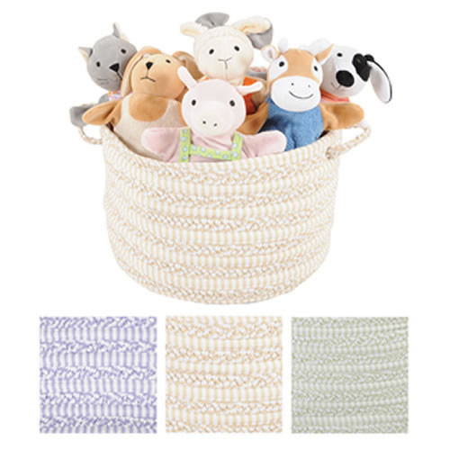 Fabric Gathering Basket