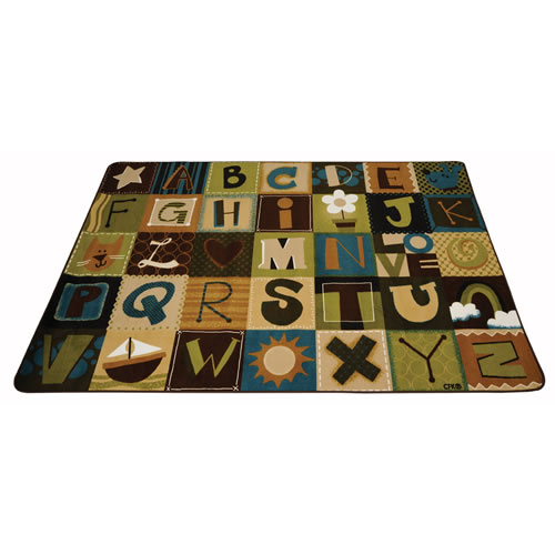 Alternate Image #5 of Nature Alphabet Blocks Carpets