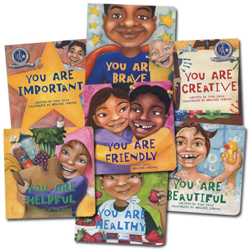 You Are Important Board Books - Set of 7
