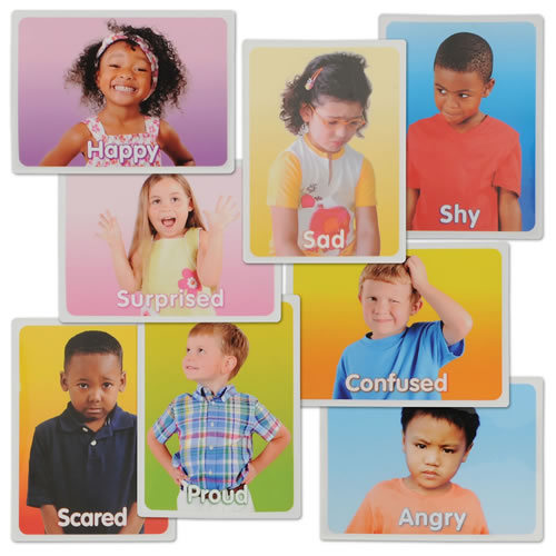 Emotions Magnet Set (Set of 8)