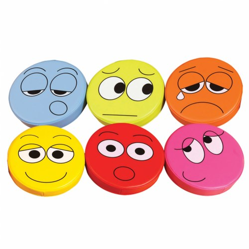Emotion Floor Cushions (Set of 6)