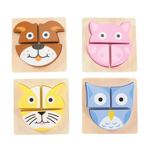 Puzzle Buddies - Set of 4