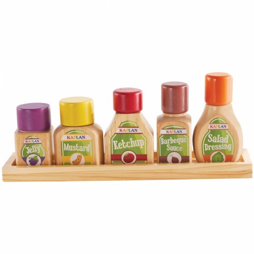 Kaplan Pretend Foods Condiment Set