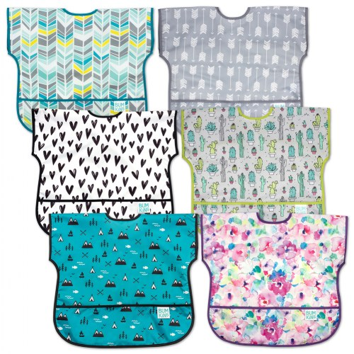 Junior Bib Set (Set of 6)
