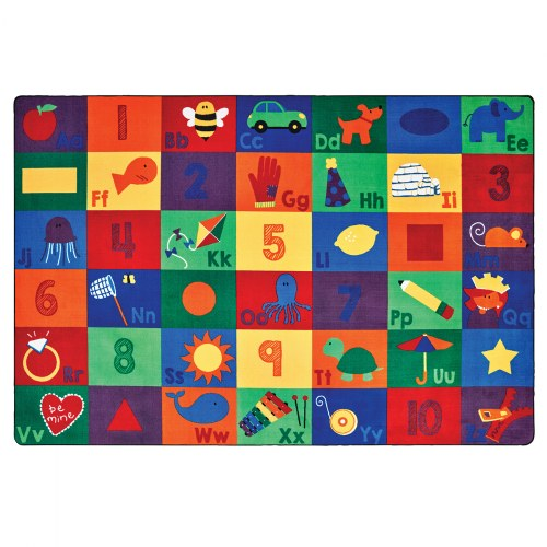 Sequential Seating Literacy Rugs