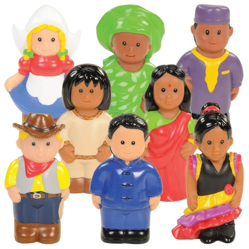 Around the World Dolls - Set of 8