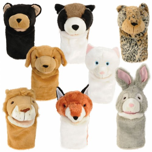 Look Who's Talking Animal Puppet Set (Set of 8)