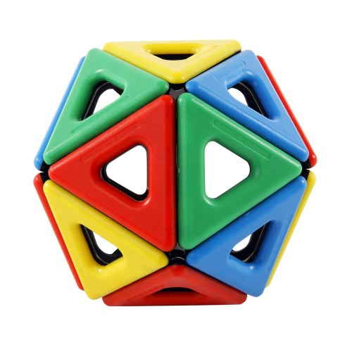 Alternate Image #4 of Magnetic Polydron Sets