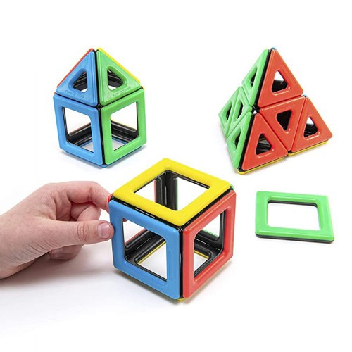 Alternate Image #6 of Magnetic Polydron Sets