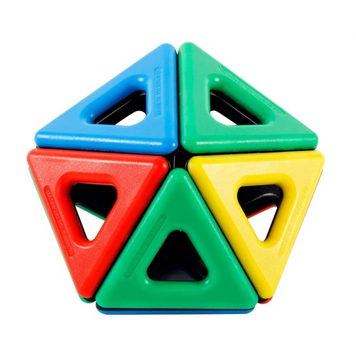 Alternate Image #8 of Magnetic Polydron Sets