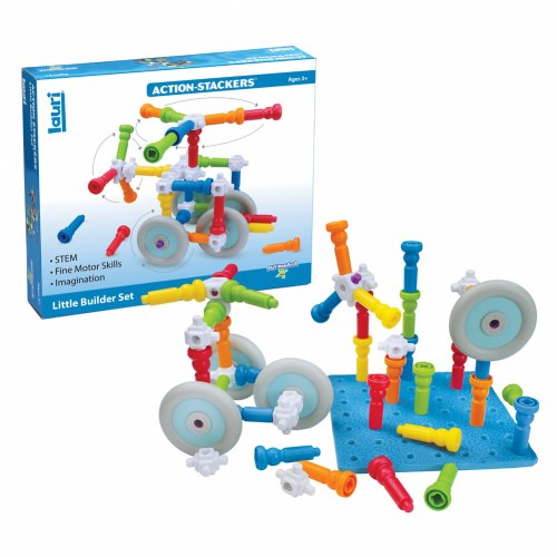 Action-Stackers™ Standard Building Set (62-Piece Set)