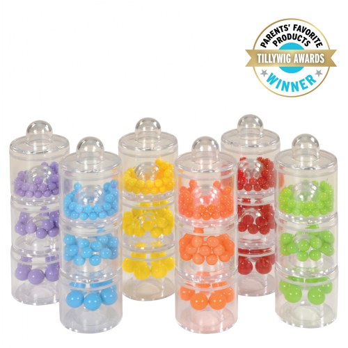 Sound and Sort Stackers (Set of 18)