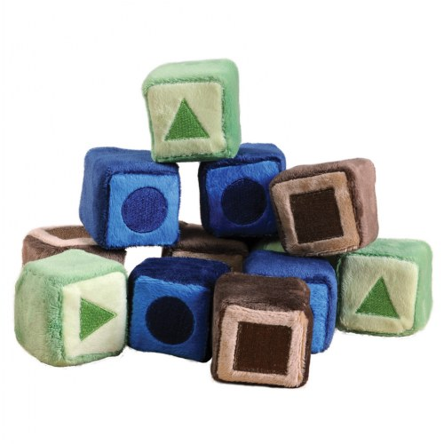 "Soft Shape Blocks - Set of 12, 2"" x 2"""