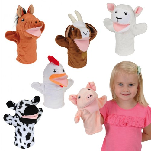 Farm Animal Puppets - Set of 6