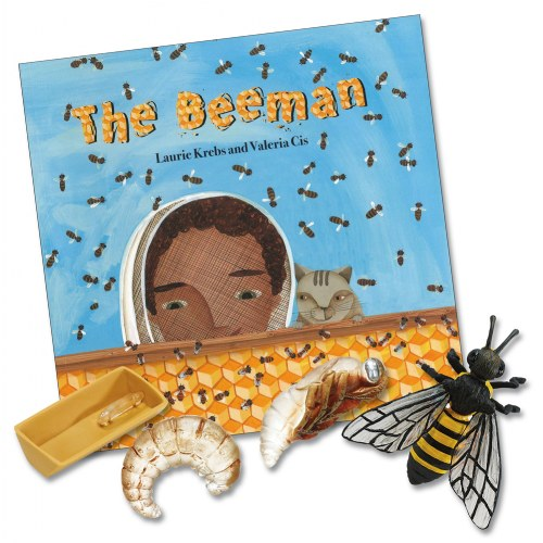 The Beeman and the Honeybee Set (Paperback Book & Life Cycle Set)