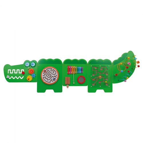 Crocodile Activity Wall Panel