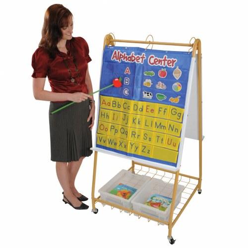 Kindergarten Calendar Flip Chart : Mobile teaching flip chart writing easel