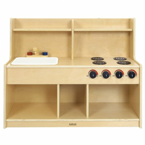 Toddler pretend and play kitchen for Kaplan floor planner
