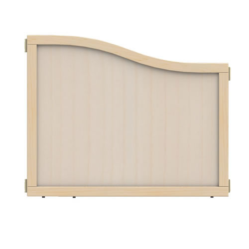 "Create-A-Space™ Crest Panel 24 1/2""H to 29 1/2""H - Wood"