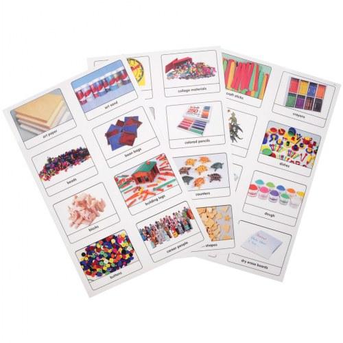 Classroom photo label system for Kaplan floor planner