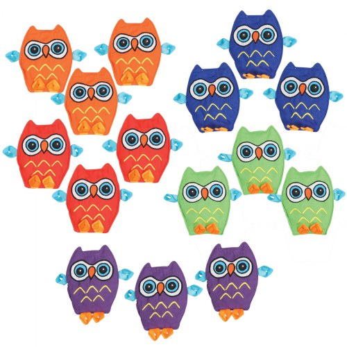 Crinkle Matching Owls