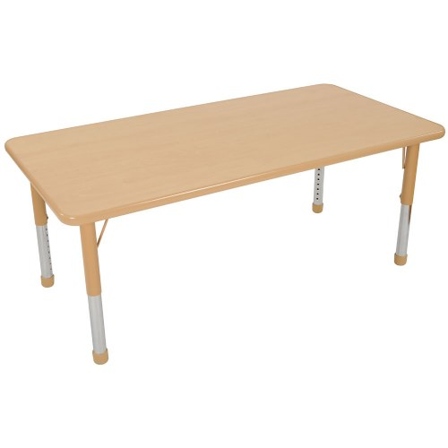 Nature Color Chunky 30x48 Rectangle Tables (Seats 6)