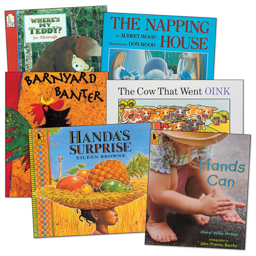 Rhythm and Rhyme Big Books - Set of 6
