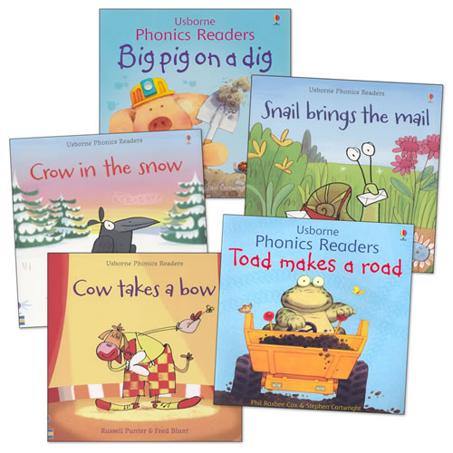 Early Literacy Skills Books - Set of 5