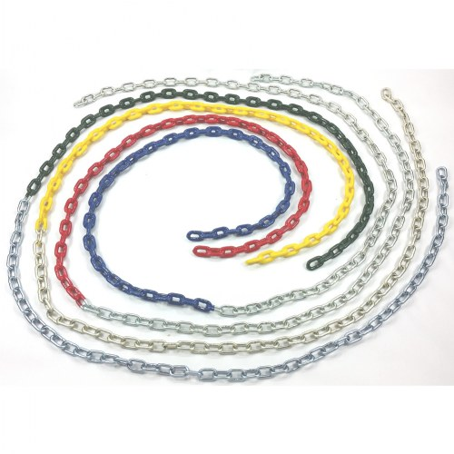 "Vinyl Coated 4/0 Chain (66"" and 102"" Lengths)"