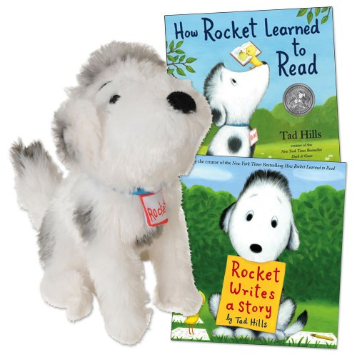 Rocket Doll And Book Set Set Of 2