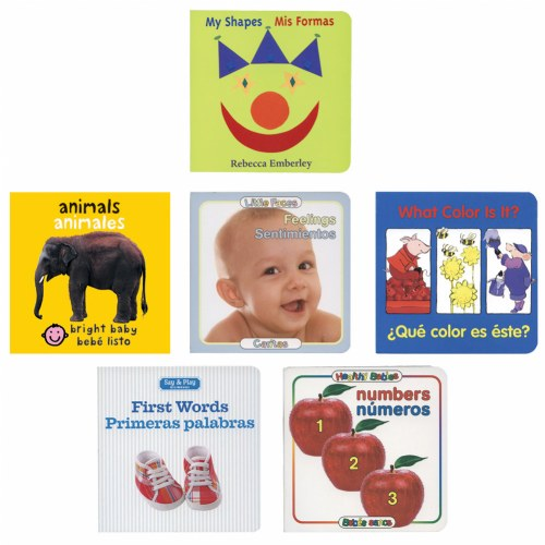 Infant/Toddler Bilingual Book Set 2 (Set of 6)
