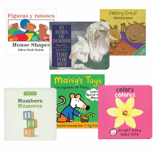Bilingual Book Set 1 (Set of 6)