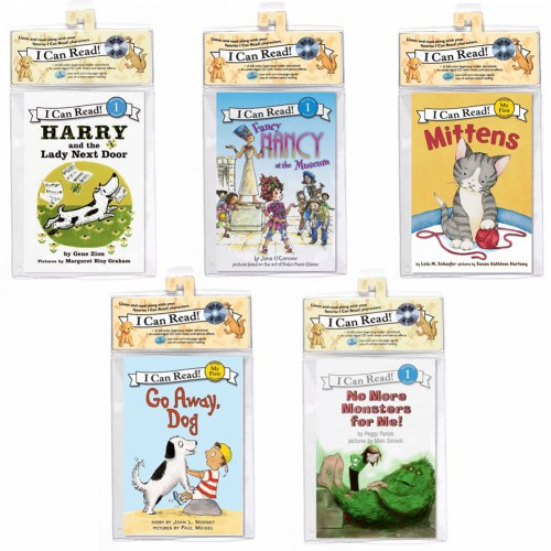 I Can Read Book and CD Set (Set of 5)
