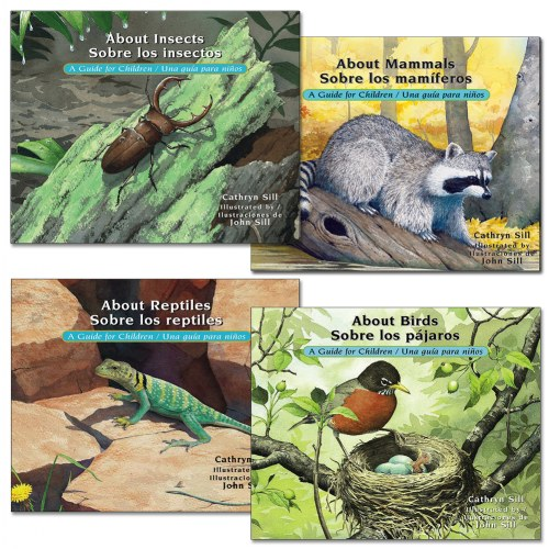 Bilingual Science Books (Set of 4)