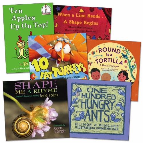 Counting and Shapes Books - Set of 6