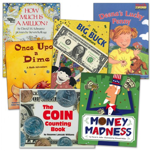 Learning To Count Money Book Set (Set of 6)