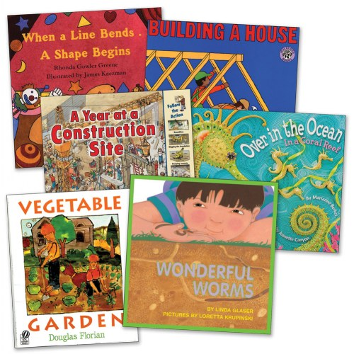 STEM Books for Kindergarten (Set of 6)