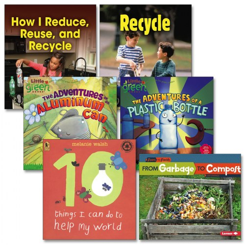 Reduce Reuse Recycle Books - Set of 6