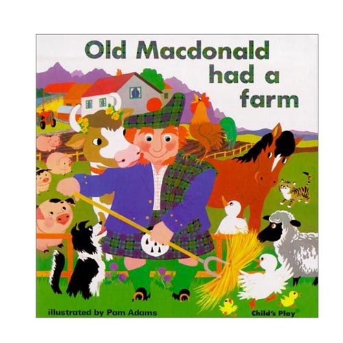 Old MacDonald Had A Farm: Classic Book Series - Board Book