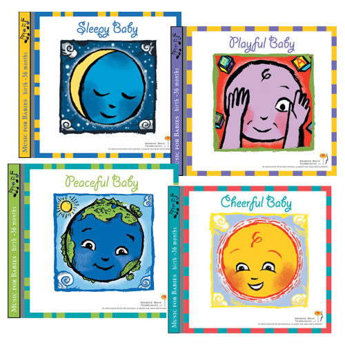 Music for Baby Set - Set of 4 CD's