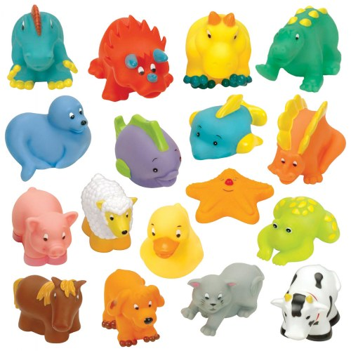 My Animal and Ocean Soft Squeezable Buddies - Set of 17