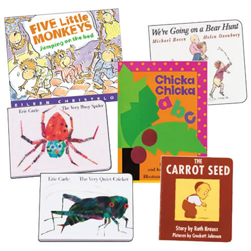 Classic Board Books Set 1 - Set of 6