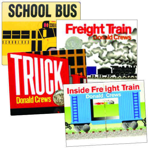 Donald Crews Board Books - Set of 4