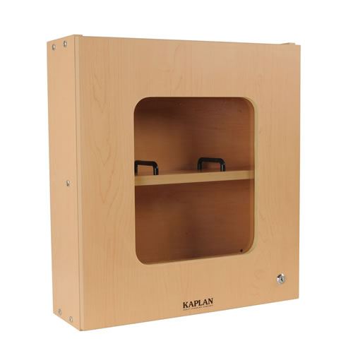 Locking medicine cabinet for Kaplan floor planner