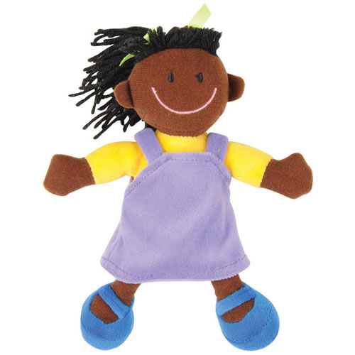 Alternate Image #1 of Ethnic Soft Dolls - Set of 4