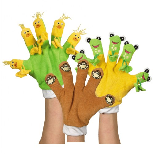 Hand Gloves - Set of 3 Storybook Favorites